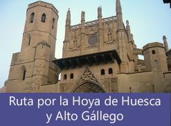 Ruta por la Hoya de Huesca y Alto Gállego