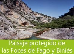 paisaje protegido foces de fago